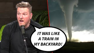Pat McAfee's First Time Experiencing Tornado Weather