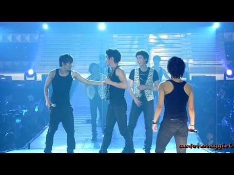 100410 Muscle Kyuhyun - Miracle SS2 Manila fancam