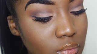BASIC Beginners Eyeshadow Tutorial (DETAILED) | Imani LeeMarie