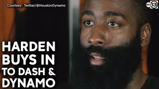 James Harden now an owner of Houston Dynamo and Dash