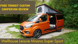 Ford Transit Custom camper review - is the Misano Super Sport the ultimate campervan?