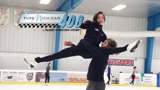 Charlie White & Meryl Davis | Pure Michigan 400