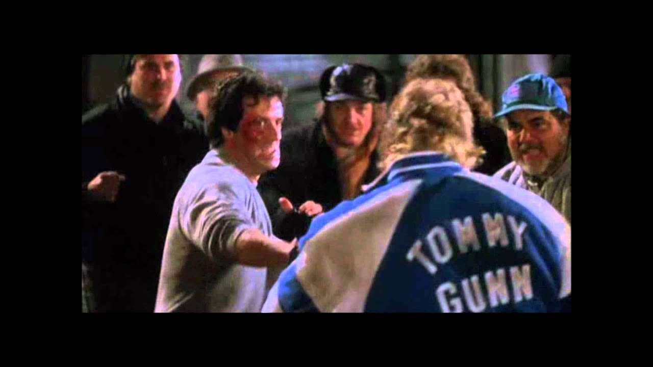 Rocky 5 Fight Scene HD Full - YouTube