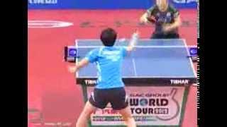 2012 World Tour Brazil Open. Semi Finals: FUKUHARA Ai (JPN) vs FENG Tianwei (SIN)