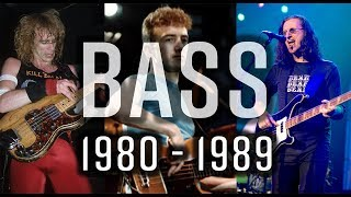 The Bass 1980 - 1989 The Players You Need to Know
