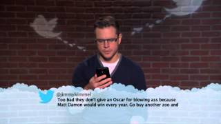 Matt Damon MeanTweets