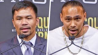Manny Pacquiao vs. Keith Thurman FULL PRESS CONFERENCE | Fox PBC Boxing