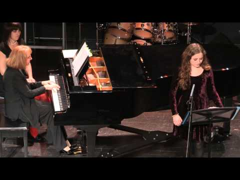 Advanced Students Concert - Piano and Voice (Ages 12-Adult) - Dec 21, 2014 at University of the Arts