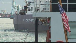 US Coast Guard prepares for Hurricane Florence