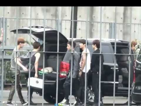 120608 EXO-K D.O boxing with Sehun [DO FOREST]