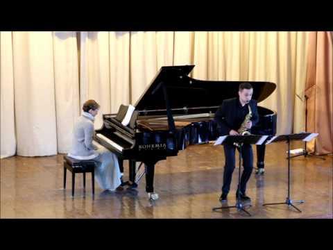 "GOLDEN SAXOPHONE 2015. Jarosz Jakub. Christian Lauba ""Balafon"""