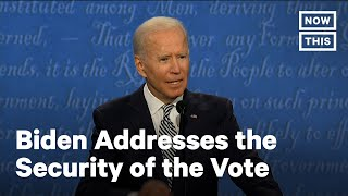 Joe Biden Urges Americans to Vote Early, By Mail, In Person | NowThis