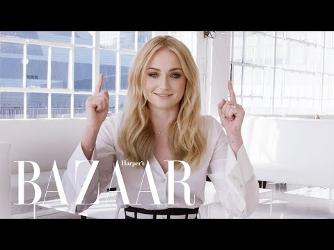 Sophie Turner Tests Her Knowledge of Game of Thrones vs. the Runway | Harper's BAZAAR