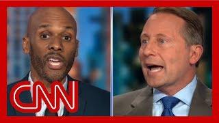 CNN panelists get in fiery exchange over Trump's tweets