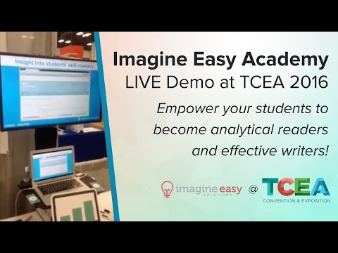 Imagine Easy Academy Demo at TCEA 2016