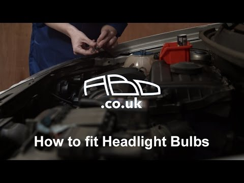 How to fit Headlight Bulbs