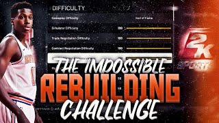 The Impossible Rebuilding Challenge in NBA 2K19