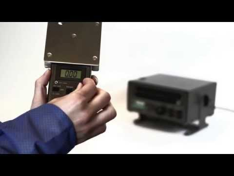 Mounting the CPM-720A Charge Plate to the PFM-711A Field Meter
