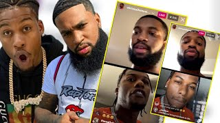 Chris Sails tell CJ SO COOL Royalty made him and CJ tells Chris hell fell off on Instagram live!