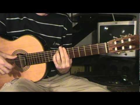 Base de blues para improvisar con guitarra acústica / clásica / criolla
