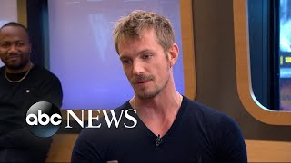 Joel Kinnaman dishes on his parents visiting the 'Altered Carbon' set