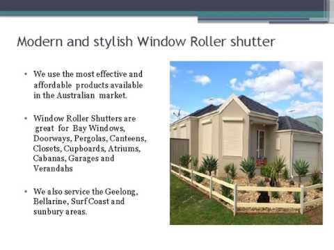 Choose the Best Electric Shutters with Melbourne Roller Shutters