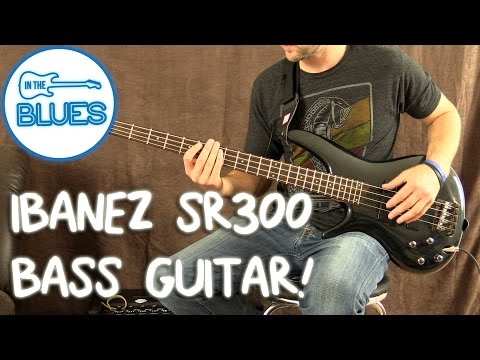 Ibanez SR300L Left-Handed Bass Guitar