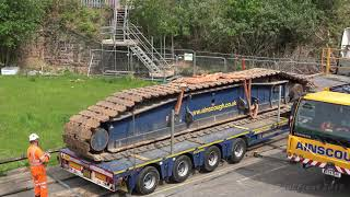 Second Garston bridge removal ( crane set up )