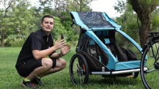 Croozer Plus Trailer Review