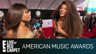 Ciara's Son Future Jr. Steals the Show at 2018 AMAs | E! Red Carpet & Live Events