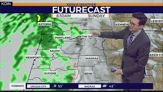 Weather Forecast: Snow slowing down in the Cascades, but rain still happening this weekend