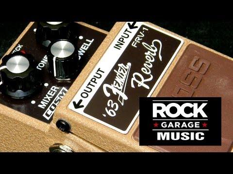 BOSS Fender FRV-1 '63 Reverb Pedal