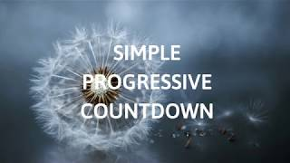 SIMPLE PROGRESSIVE COUNTDOWN, (voice) MUSCULAR DEEP SLEEP RELAXATION, Guided sleep meditation
