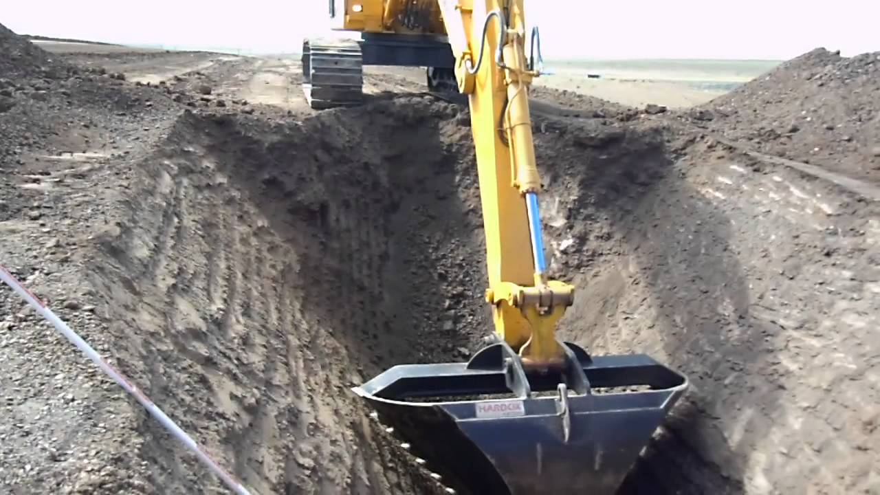 Sds Pipeline Excavation Begins Youtube