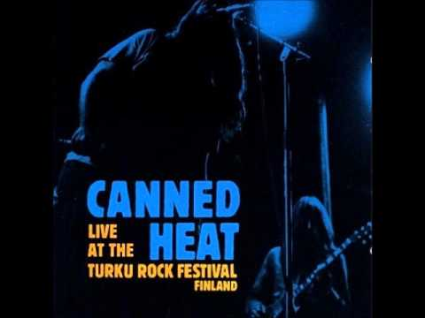 Canned Heat - Hill Stomp [Live 1971]