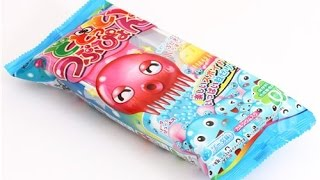 JAPANESE DIY CANDY KIT: Kracie Dodotto Tsubupyon Octopus Poop (tutorial ITALIANO)