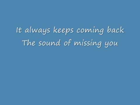 Wildboyz ft. Ameerah - The Sound Of Missing You - Lyrics