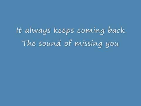 Wildboyz ft. Ameerah - The Sound Of Missing You - Lyrics