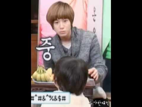 Taemin eating 우쭈쭈