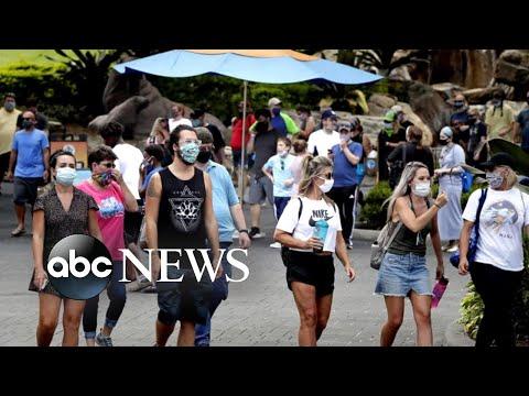 12 states set daily record for coronavirus cases l ABC News