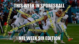 This Week in Sportsball: NFL Week Six Edition