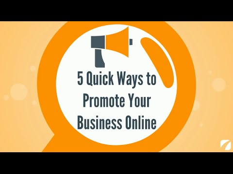 5 Quick Ways to Promote Your Business Online