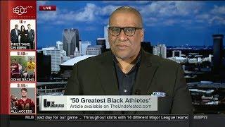 Marc J. Spears On '50 Greatest Black Athletes' | August 8 , 2017