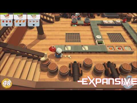 Overcooked [PC] Gameplay Review - EXP