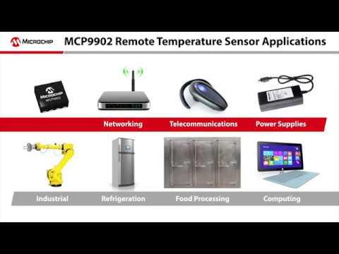 Microchip MCP9902 Remote Temperature Sensor