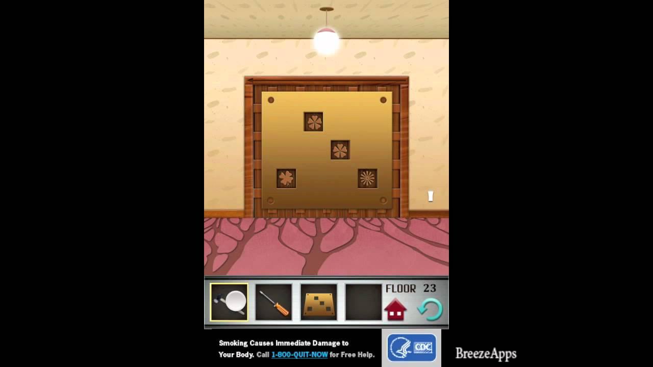 100 Floors Level 23 Walkthrough 100 Floors Solution Floor