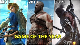 Evolution Game of the Year Winner 2000-2019 by The Game Awards
