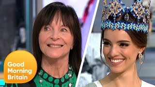Miss World Chairman Julia Morley and Miss World 2018 on Axed Swimsuit Round   Good Morning Britain