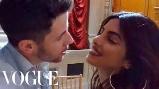 "Priyanka Chopra Dances to Nick Jonas's Song ""Close"" | Vogue"