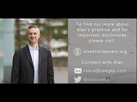 Alan Rosca Investor Rights Advocate